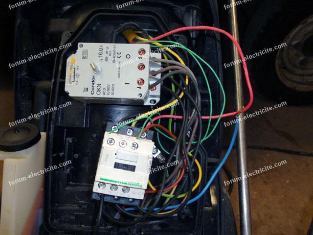 problème câblage contacteur LC1D18V7