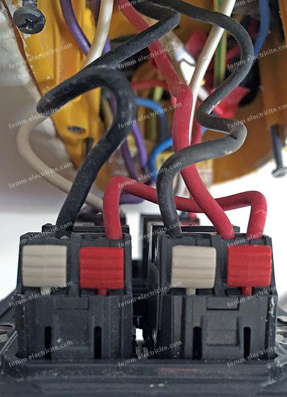 câblage Eco variateur Legrand