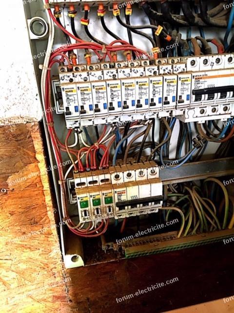 câblage tableau électrique
