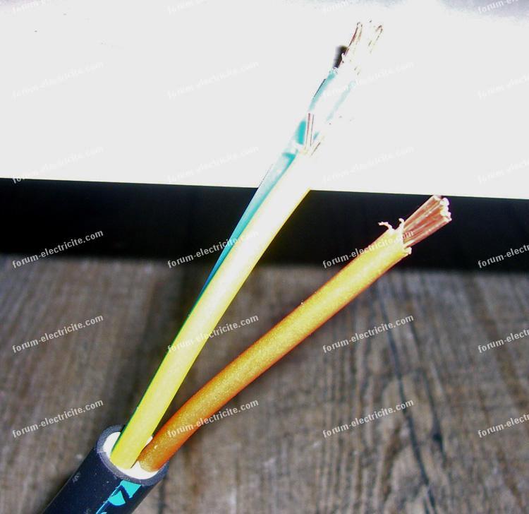 câbles branchement four