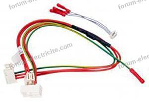 cables branchement pompes de cyclage