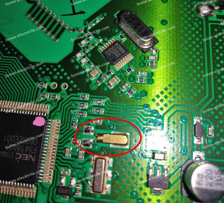 capteur de température thermostat