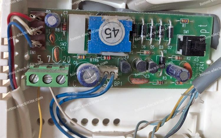 carte interphone  YC/241f