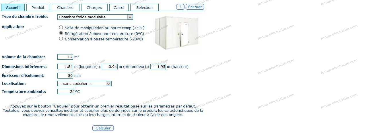 chambre froide 1