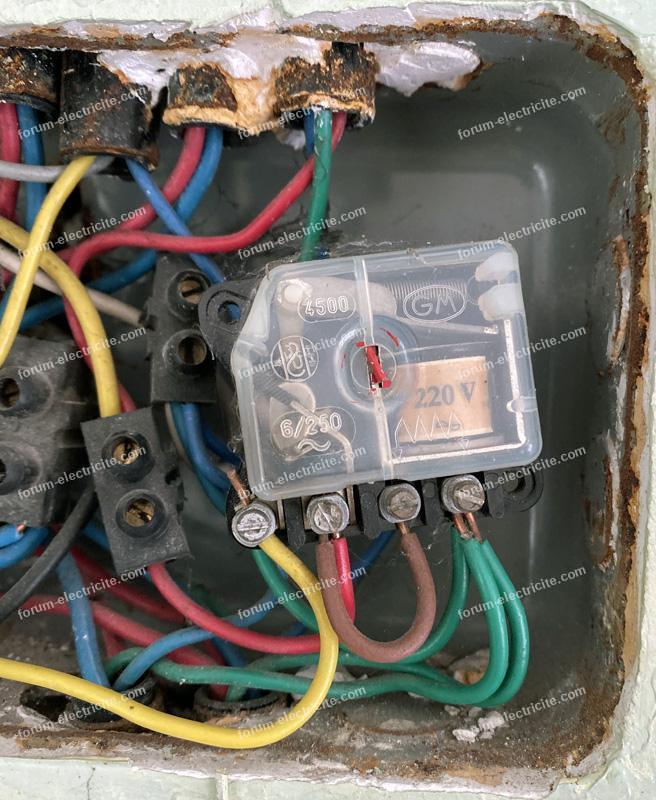 changer un vieux télérupteur GM par un Legrand