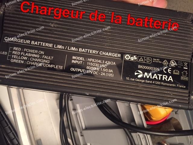 charger batterie lithium velo electrique
