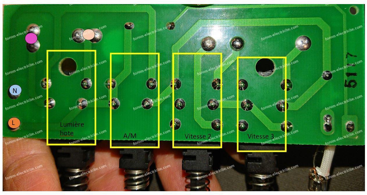 circuit 08080275 hotte Scholtès