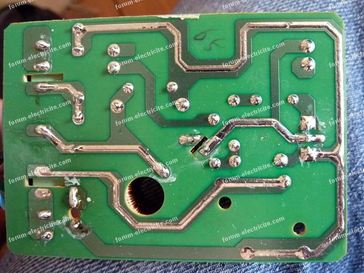 circuit imprimé variateur halogène