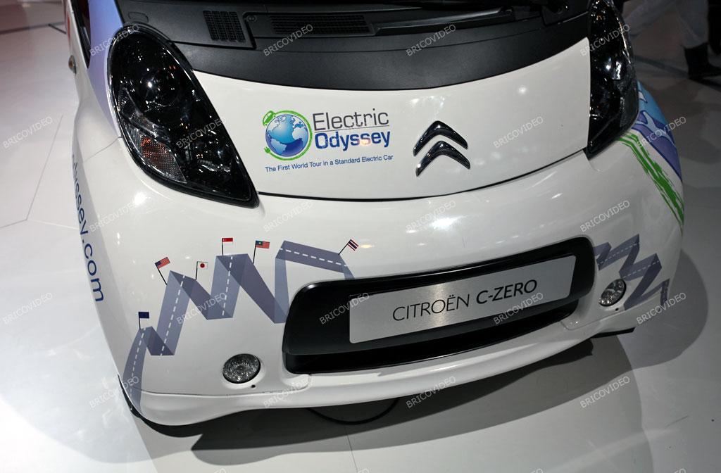 voiture électrique Citroën C-Zero