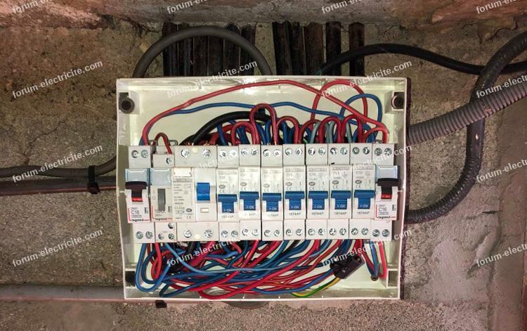 coffret électrique récent