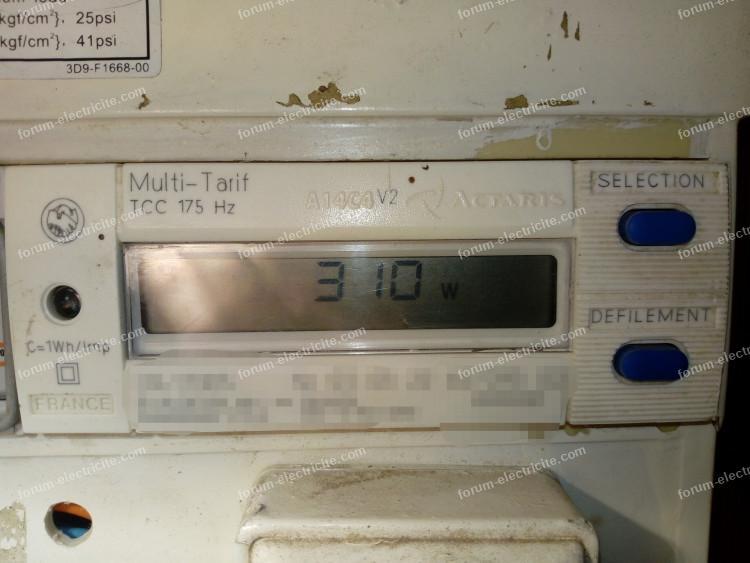 compteur électrique électronique