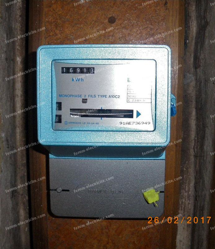 compteur électrique A10C2