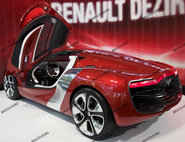 concept car voiture electrique