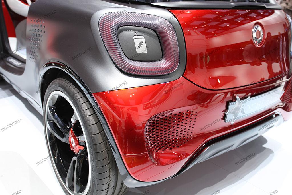 concept Smart electrique voiture électrique