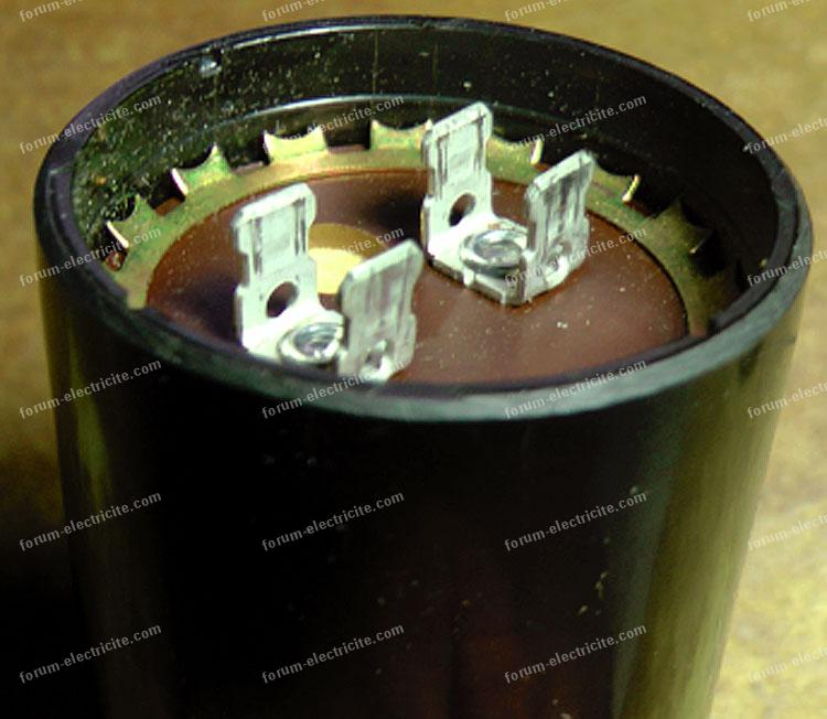 condensateur moteur électrique