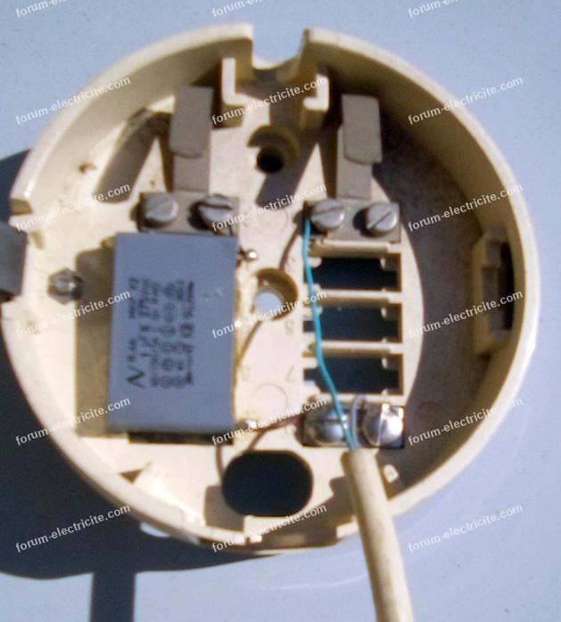 condensateur prise de téléphone