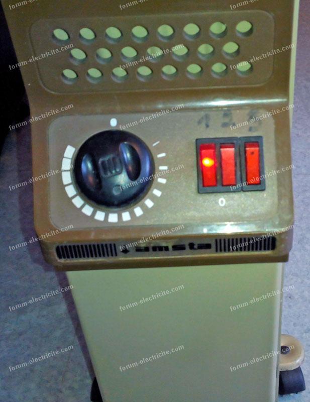 Remplacer contacteur radiateur électrique Amsta