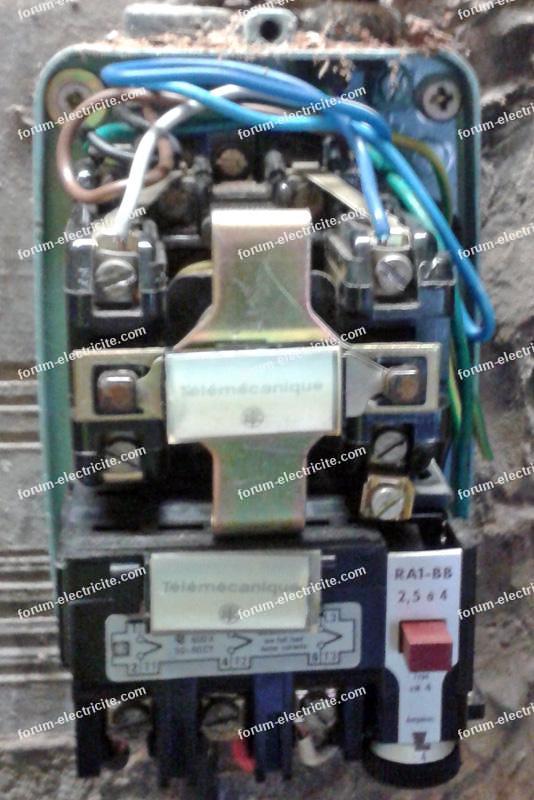 contacteur telemecanique drt 3