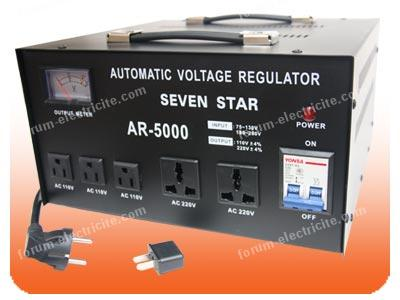 convertisseur de voltage 230/110
