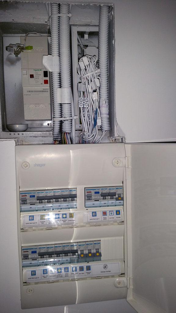 délestage installation électrique chauffage