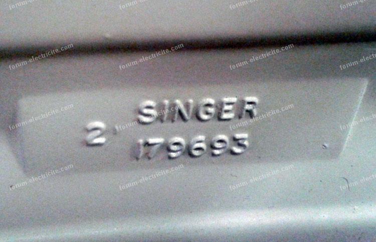dépannage machine à coudre Singer