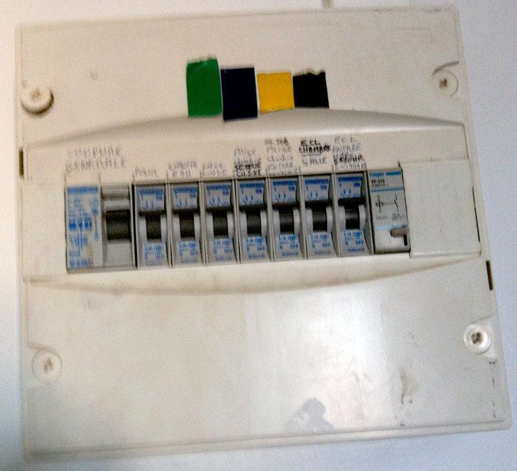 diagnostic électrique achat Appartement