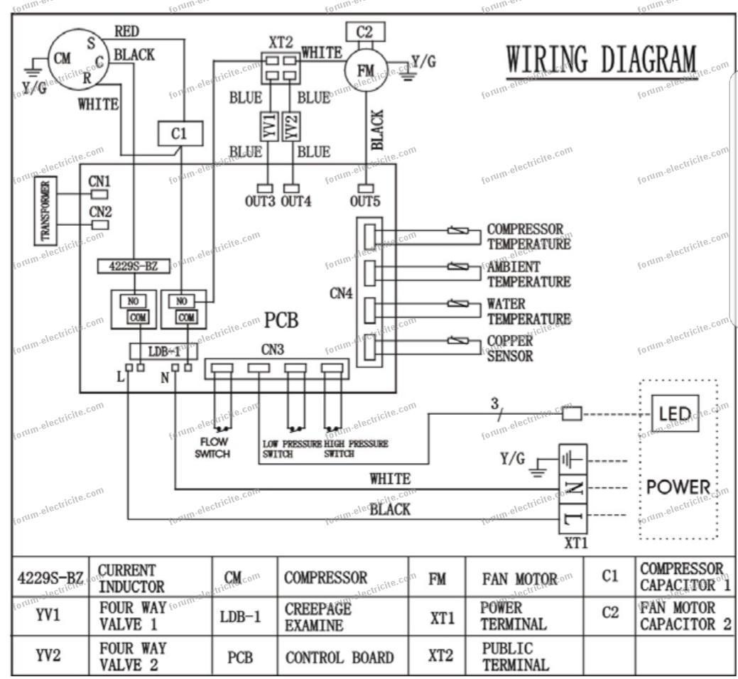 diagram pompe a chaleur Vivaldi