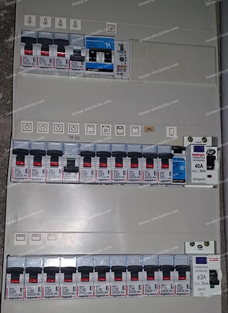 Probl me disjoncteur diff rentiel d clenche mais marche - Compteur electrique comment ca marche ...