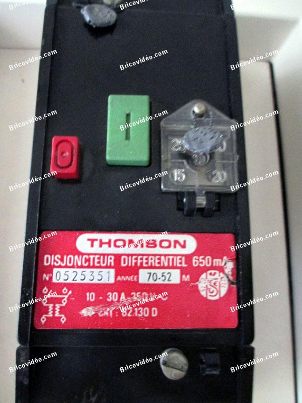 Disjoncteur differentiel thomson