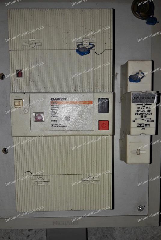 disjoncteur tableau électrique