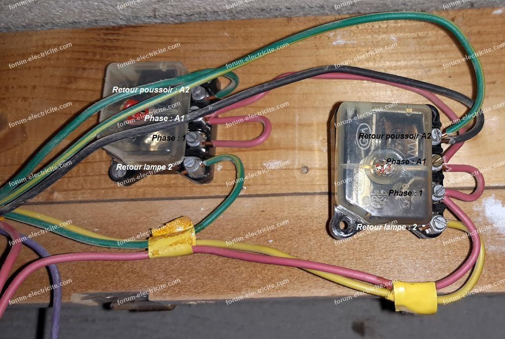 doublon 554346 remplacer t lerupteur par telerupteur modulaire
