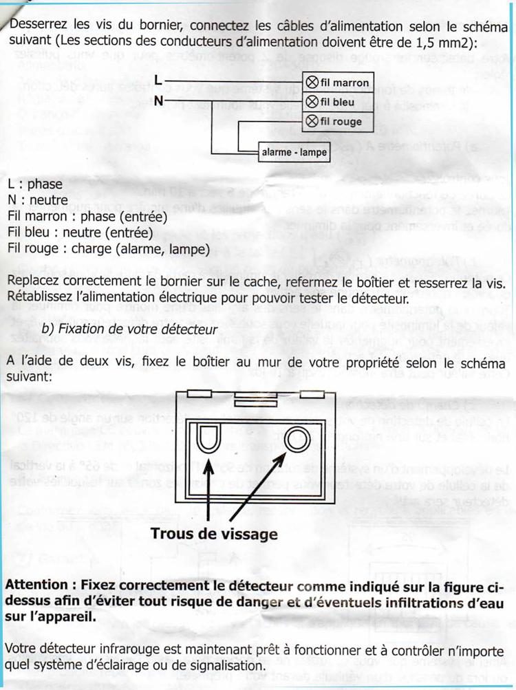electricite detecteur 8bv