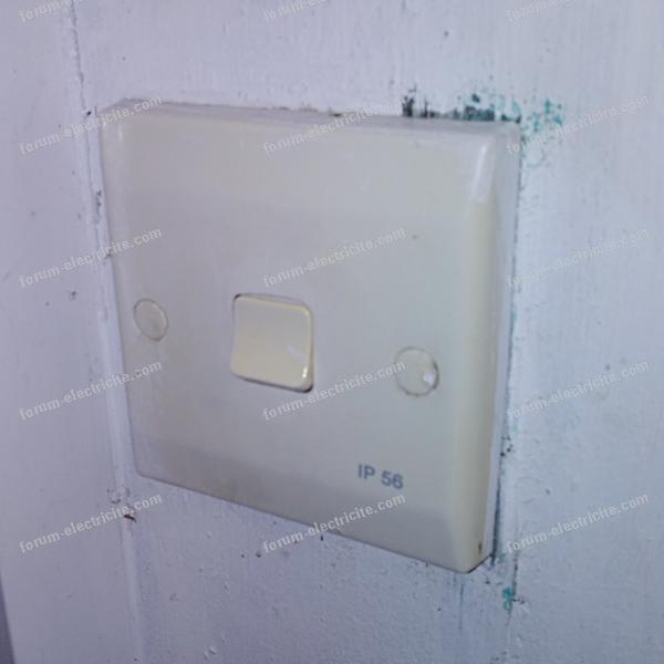 électricité interrupteur zone 1