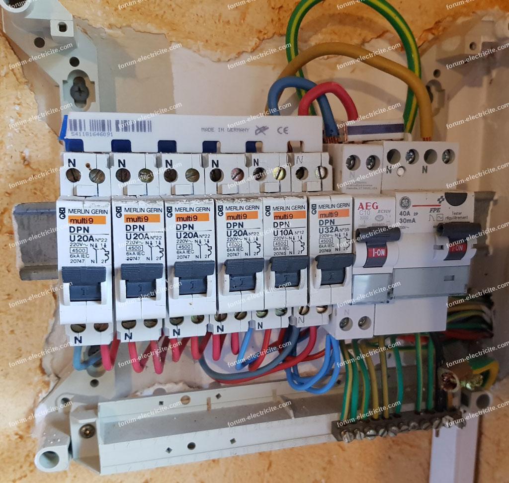 électricité pas aux normes