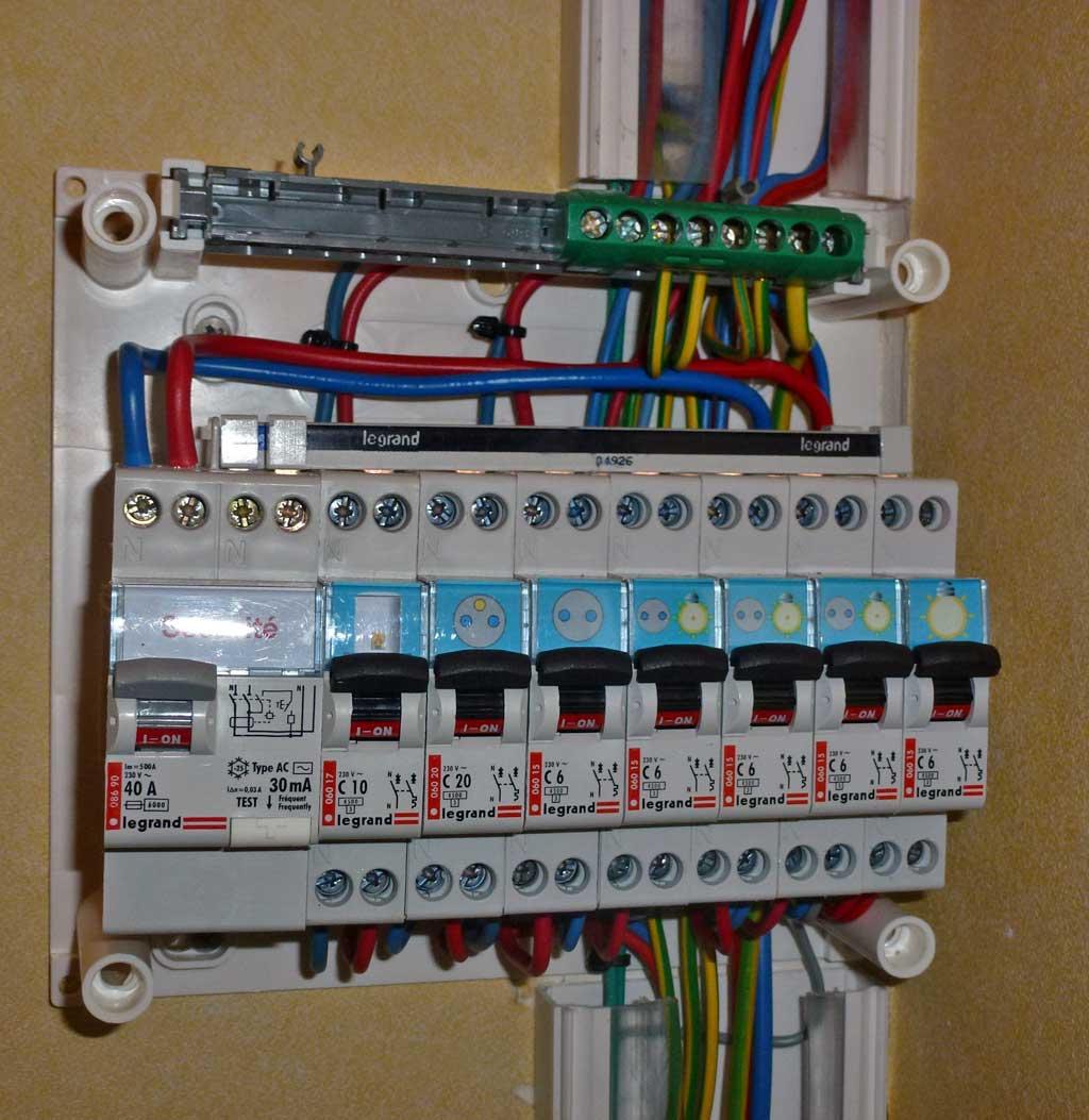 Raccordement lectricit alimentation lectrique cabanon distance 20 m tres de la maison - Tableau electrique secondaire ...