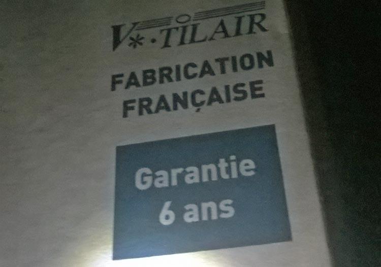 vmc fabrication française