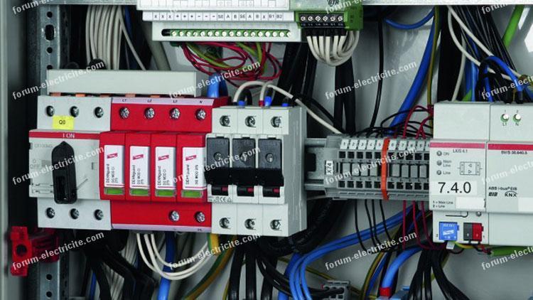 forum électricité Installation parafoudre