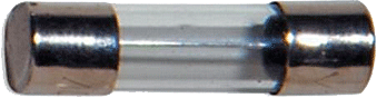 fusible en tube verre