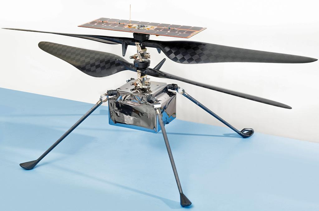 BricoVidéo image du jour - Ingenuity Mars Helicopter