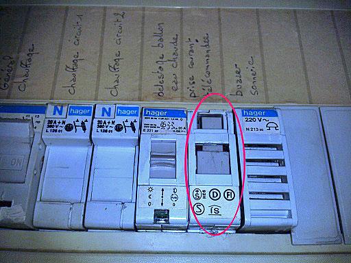 lectricit informations tableau lectrique conseils pour identifierce boitier sur mon tableau. Black Bedroom Furniture Sets. Home Design Ideas