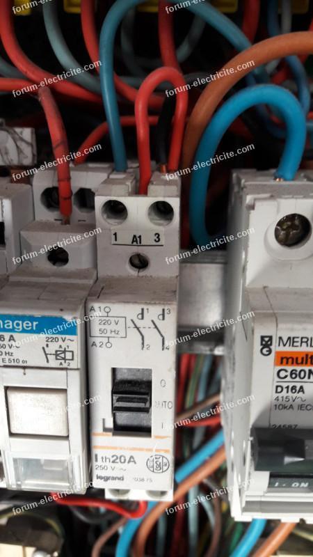 informations circuit de commande heure creuse