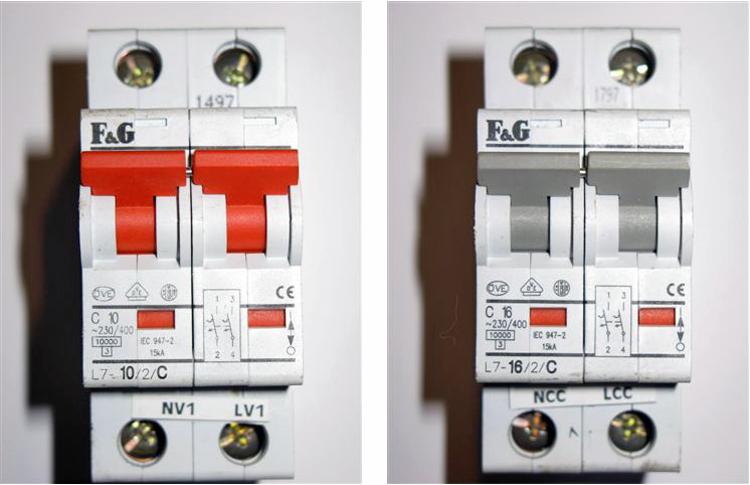 installation disjoncteurs bv