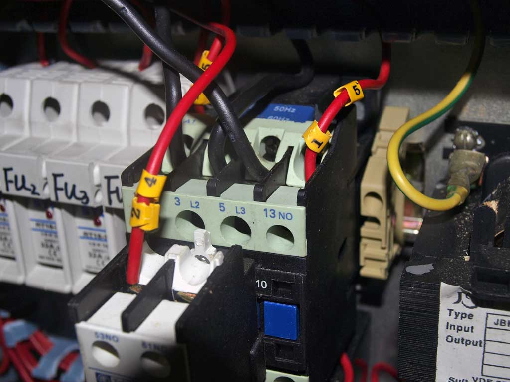 installation electrique combine bois avant 2