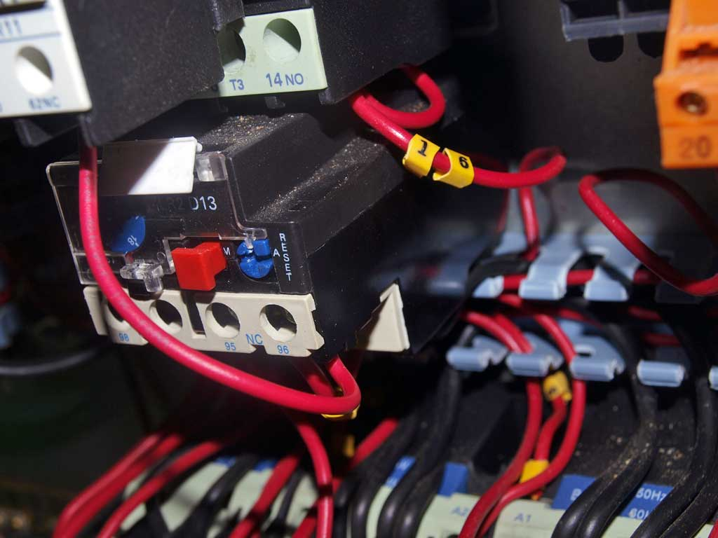 installation electrique combine bois avant 3