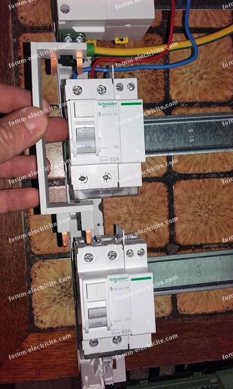 installation tableau électrique principal