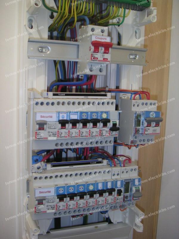 installertableau électrique secondaire