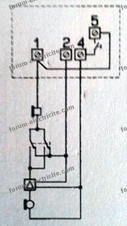 schéma Interphone Terraneo
