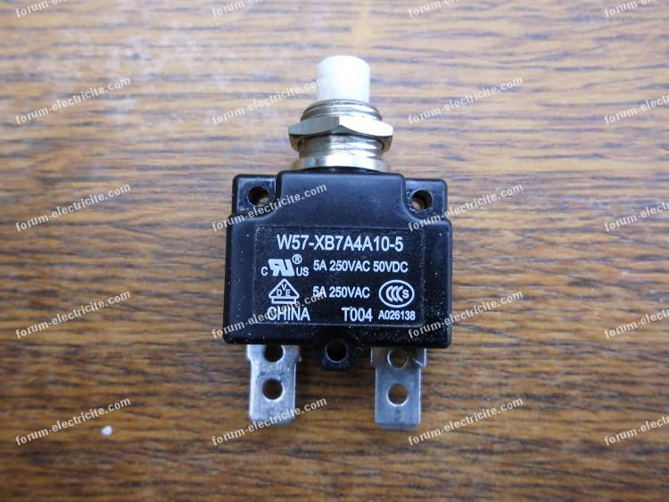 interrupteur de compresseur