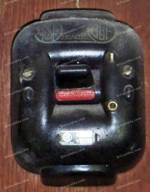 interrupteur des années 50