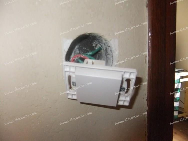 interrupteur double fond étage